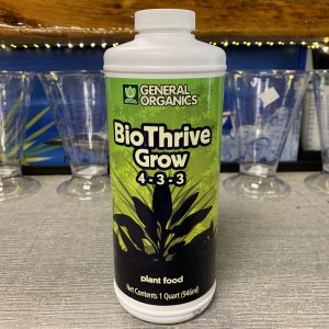 Go BioThrive Grow Quart
