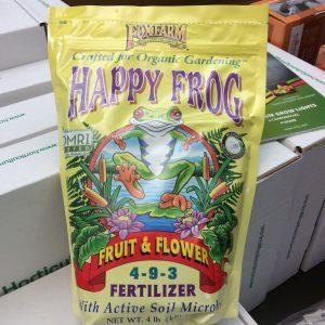 Happy Frog Fruit/Flowers Dry Fertilizer