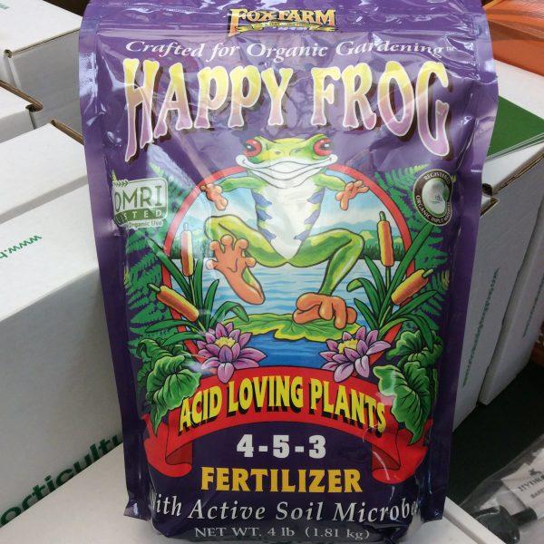 Happy Frog Acid Loving Plants Dry Fertilizer