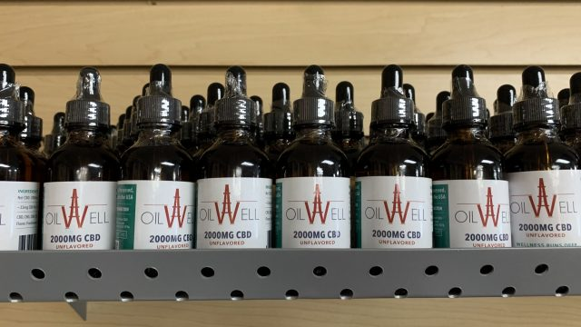 Larg bottle Oil Well CBD. Good value