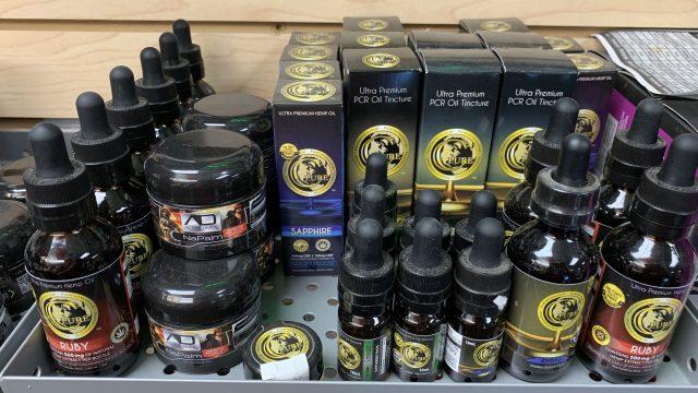 Pure Cannaceutical CBD products